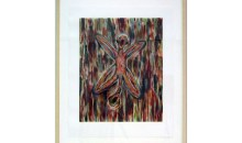 Untitled,	1994,	hand printed color silkscreen	30 in. x 24 in. (76.2 cm x 60.96 cm)	Gift of Ruth and Richard Shack