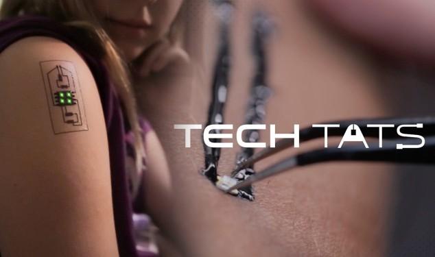 Tatuajes electrónicos para la salud