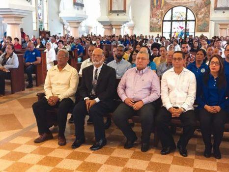 CORAAMOCA celebra eucaristía en acción de gracias por su 23 aniversario