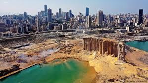El impactante antes y después de la explosión en el puerto de Beirut