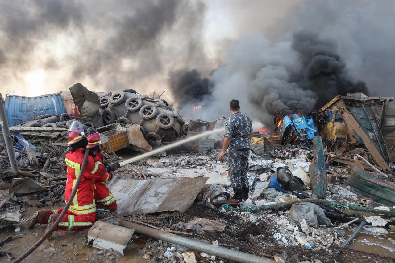 Israel ataca a Beirut