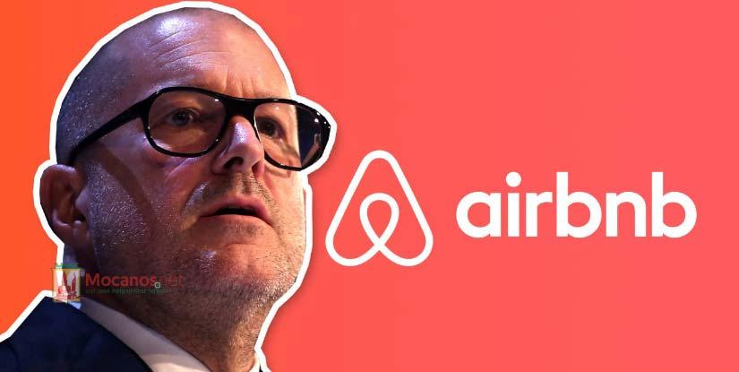 Airbnb junto al icónico de Apple, Jony Ive