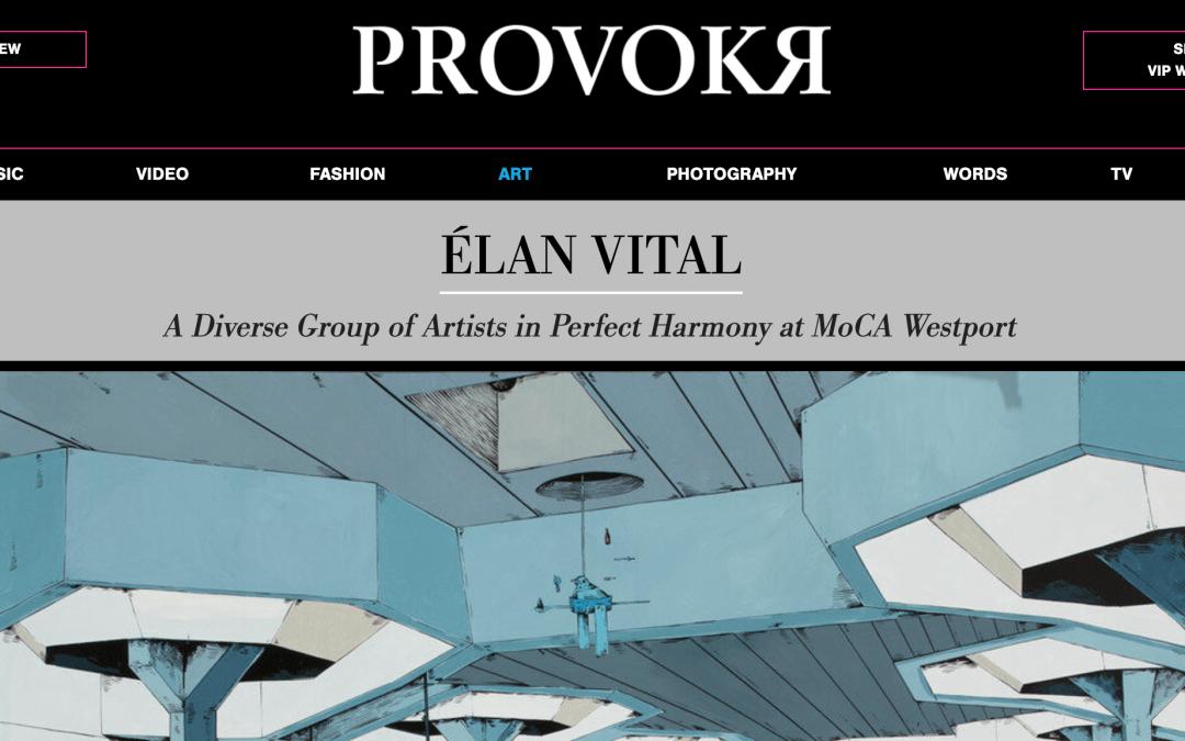 Read about Élan Vital on PROVOKR