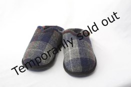 Gents Harris Tweed Slippers