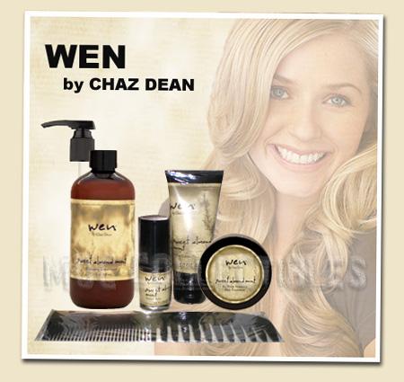 wen by chaz dean 6 piece sweet almond mint hair care set brand new unopened ebay