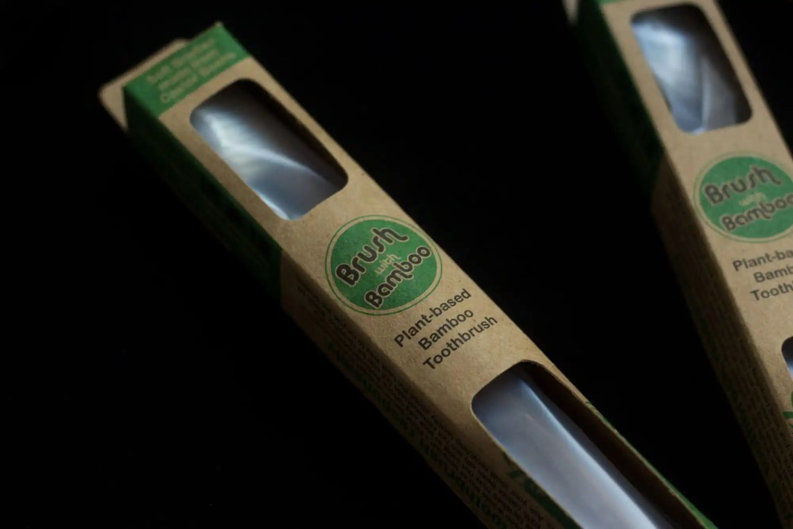 Brush With Bamboo Packaging
