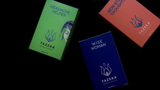 Tazeka Aromatherapy Boxes