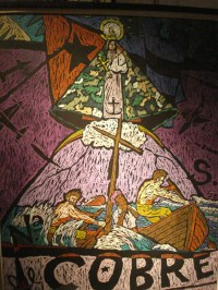 """Nuestra Señora Caridad del Cobre,"" Jorge Pardo (Cuba, CA), 1990"