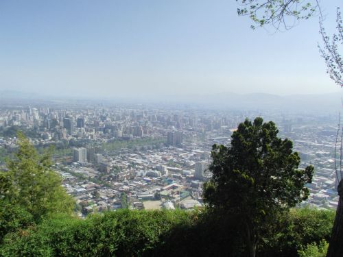 Vista do Cerro San Cristóbal