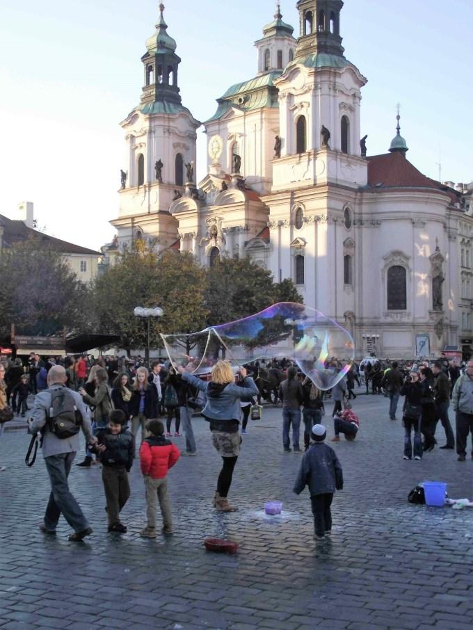 Praça da cidade antiga