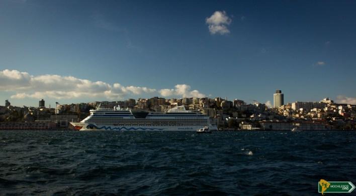 Crucero por el Bósforo - Guía de Estambul, Istanbul Turquía Mochileros.org