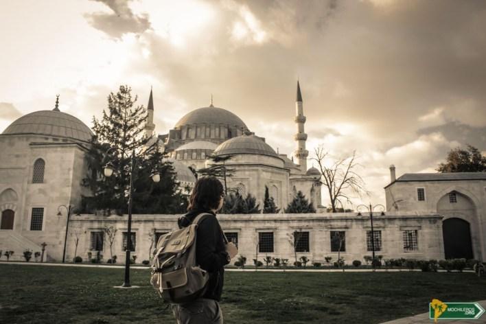Mezquita de Suleymaniye - Guia de Estambul Istanbul Turquía Mochileros.org