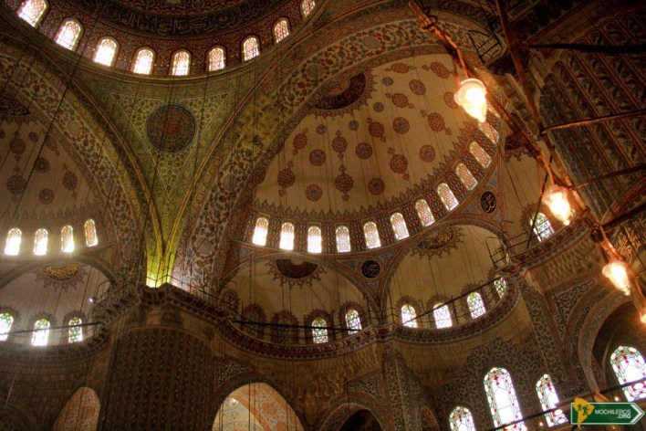 Mezquita Azul - Guia de Estambul, Istanbul Turquía Mochileros.org