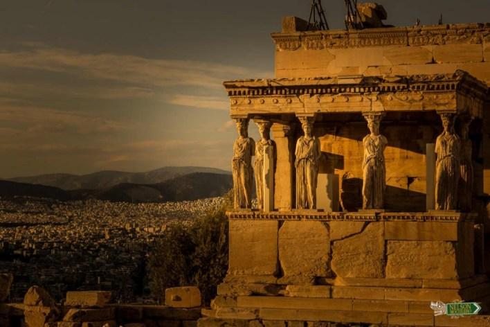 Templo de Atenea - Guia de Atenas