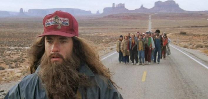 Forrest Gumt corriendo - caminata trekking