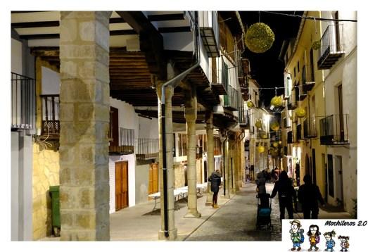 carrer del arcs morella