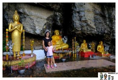 luang prabang Wat Tham Phu Si