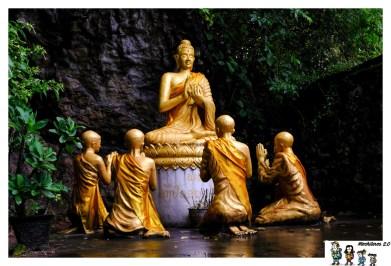 luangprabang Wat Tham Phu Si