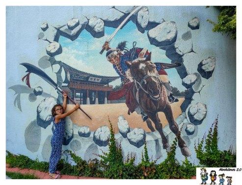 murales gonbang street suwon