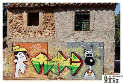 fanzara mural lucky luke