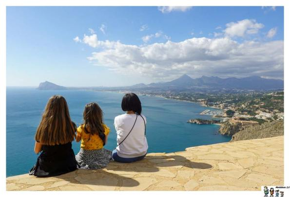 Mirador a la Bahía de Altea desde el Monte Toix