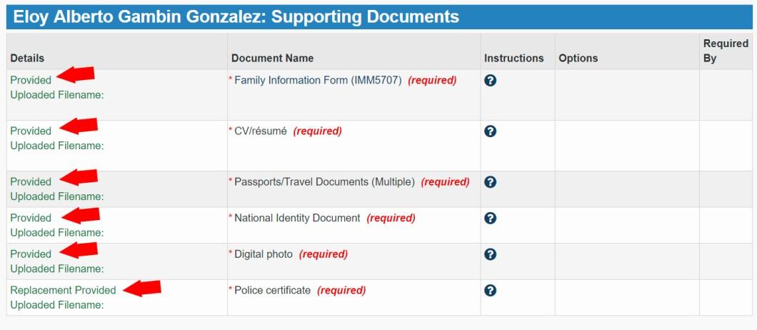 Subir documento para obtener tu visado para canadá