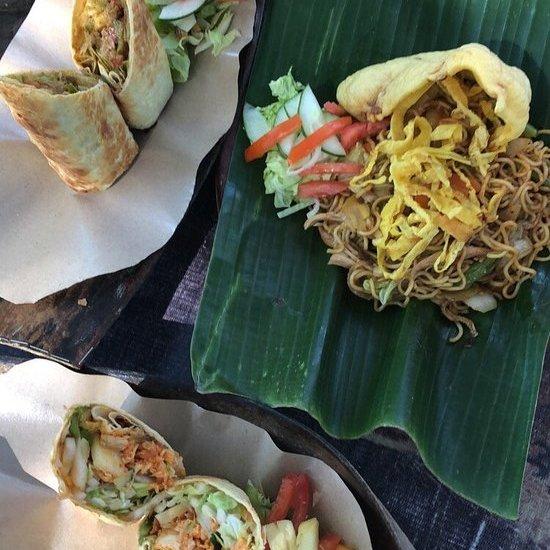 comida indonesia isla gili