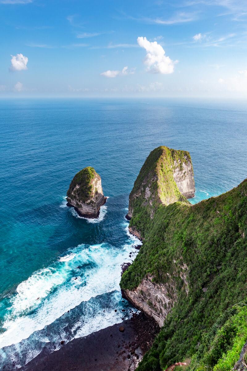 que ver Nusa Penida Indonesia Kelingking beach