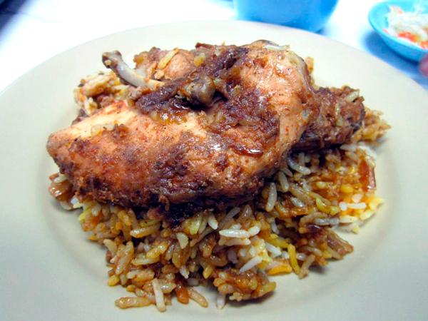 Comida tipica en Myanmar