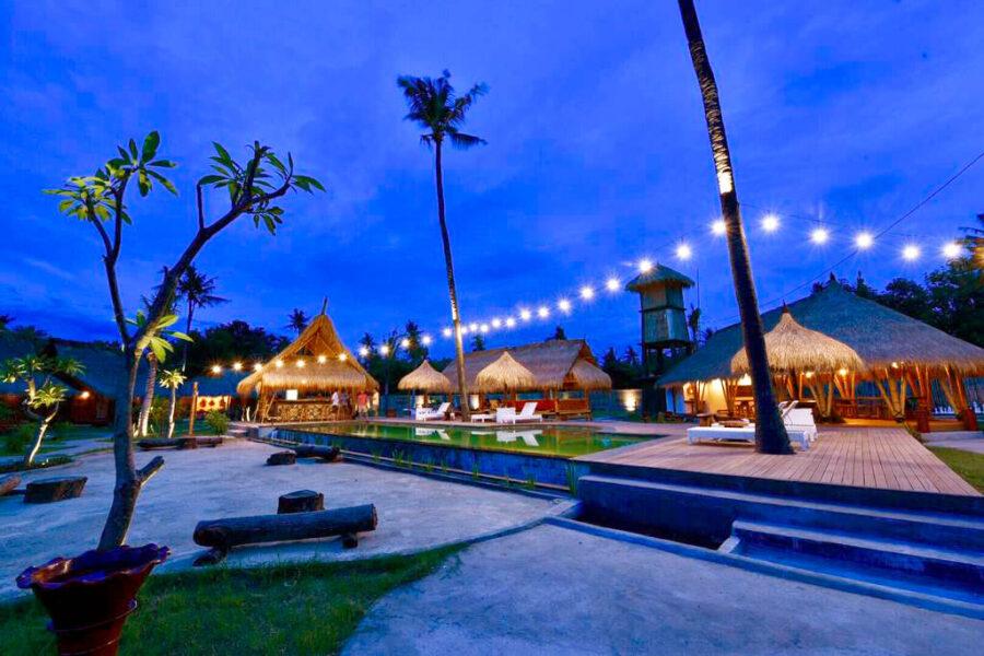 hostel islas gili indonesia