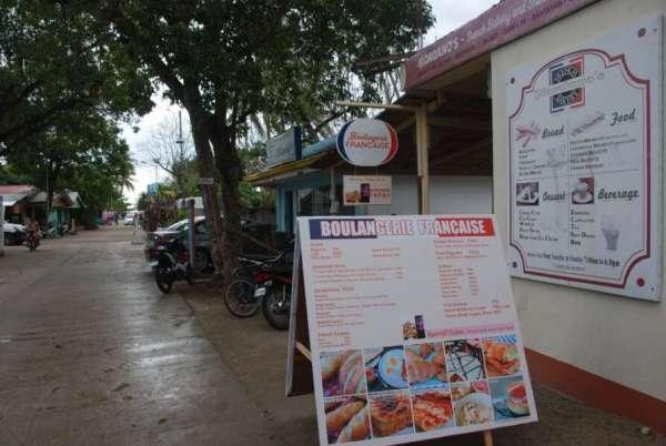 Uno de los sitios donde debes comer en Bantayan. En esta pastelería francesa