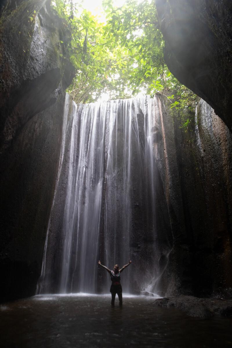 Que cascadas ver en Bali