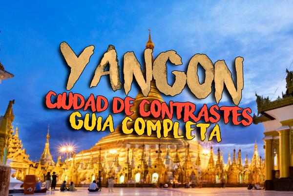 Guia Yangon Myanmar