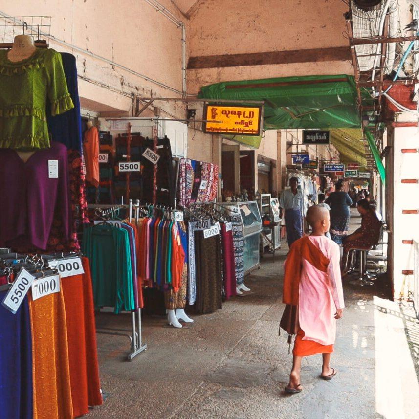 Yangon que ver y hacer viajar a Myanmar