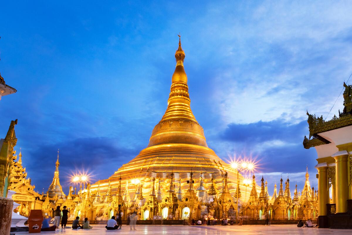 Pagoda Yangon que ver Myanmar
