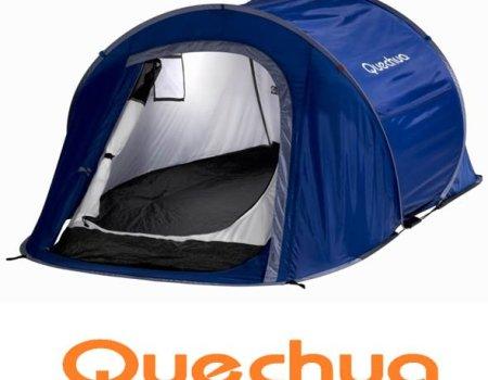 Tiendas de campaña ultraligeras Quechua 2 Seconds