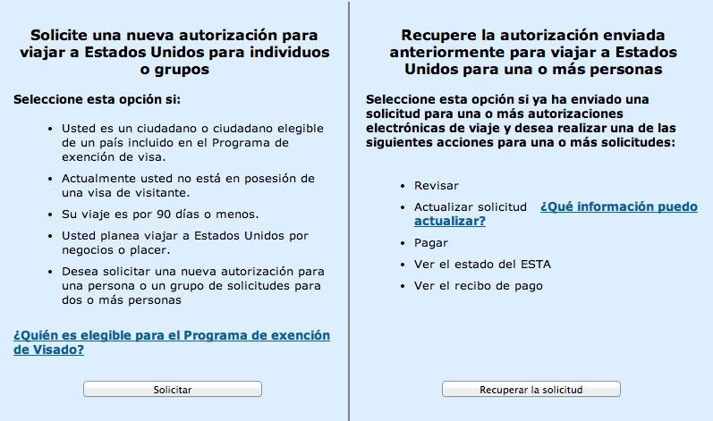 Cómo hacer el formulario ESTA paso a paso para viajar a Estados ...