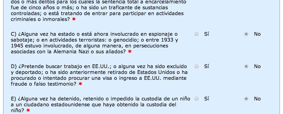 autorización-ESTA-solicitud-formulario-preguntas