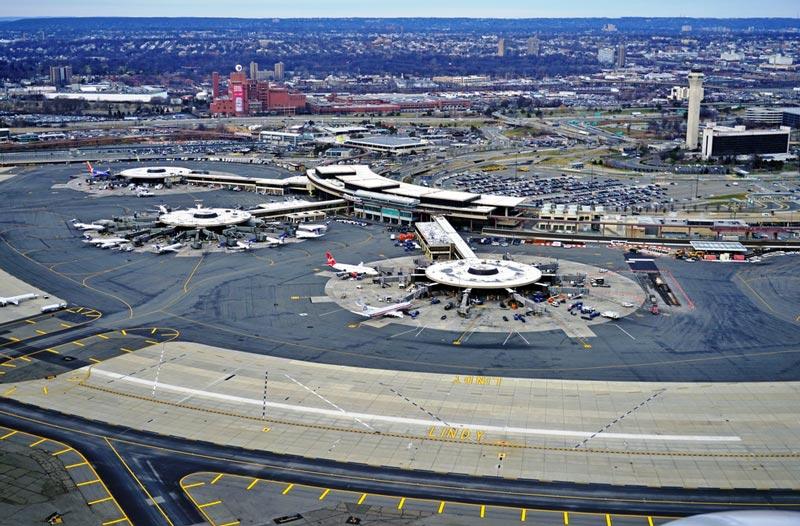 Como llegar desde el aeropuerto de Newark al centro de Nueva