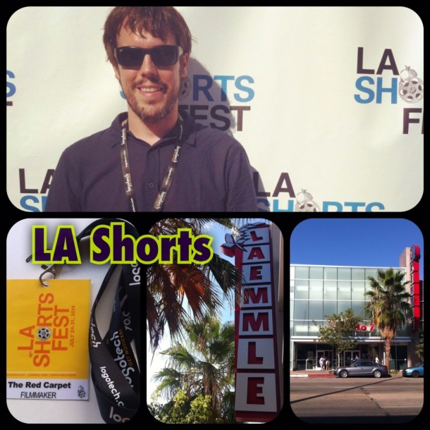 mochileros en Los Angeles Shorts Fest