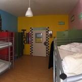 Panorámica dormitorio