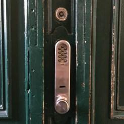 Cerradura con código