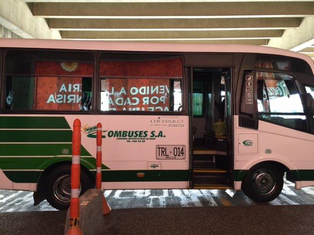 Autobus Combuses al JMC MDE