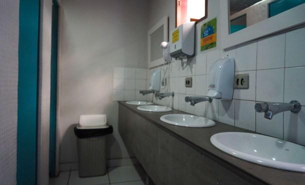 Baños del hostal Ô de Casa de Sao Paulo
