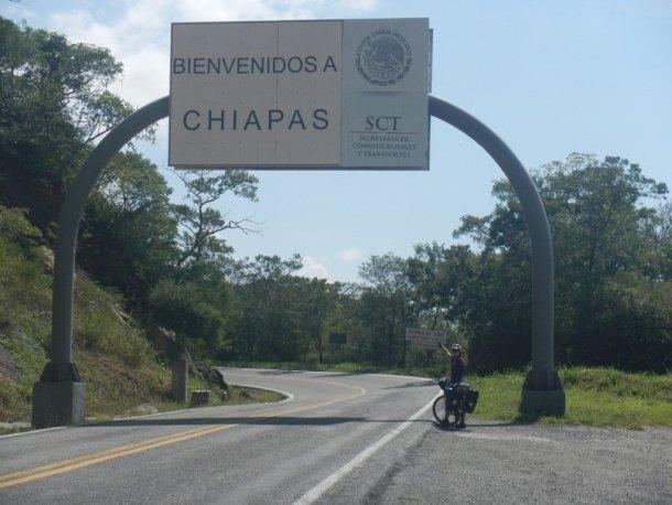 Mexico en bicicleta Chiapas