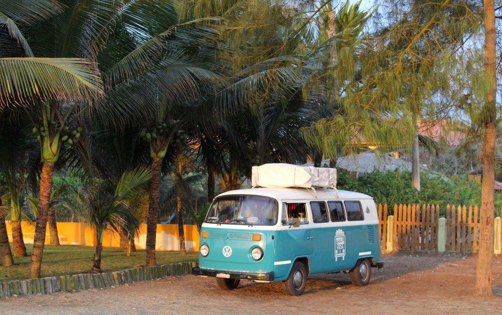 Viajar en furgoneta Combi en la playa