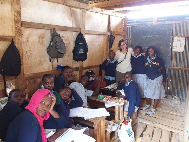 viaje por África en solitario Kibera Nairobi