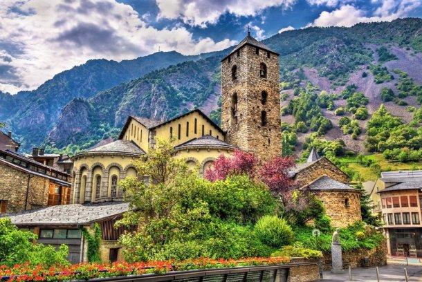 Iglesia de Sant Esteve en Andorra La Vella