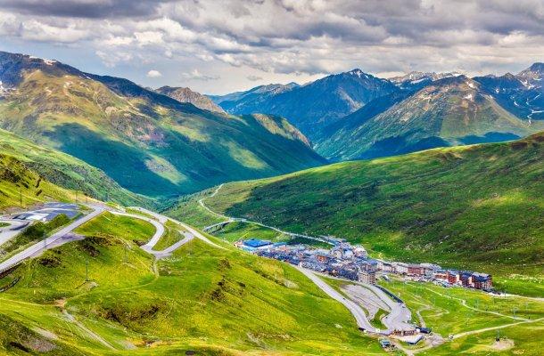 El Pas de la Casa en Andorra
