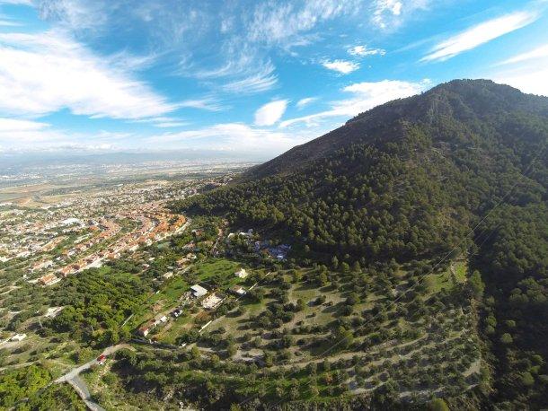 Gran Senda de Málaga, vista panorámica